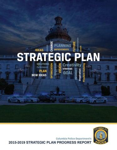 Columbia Police Department 2015-2019 Strategic Plan Progress
