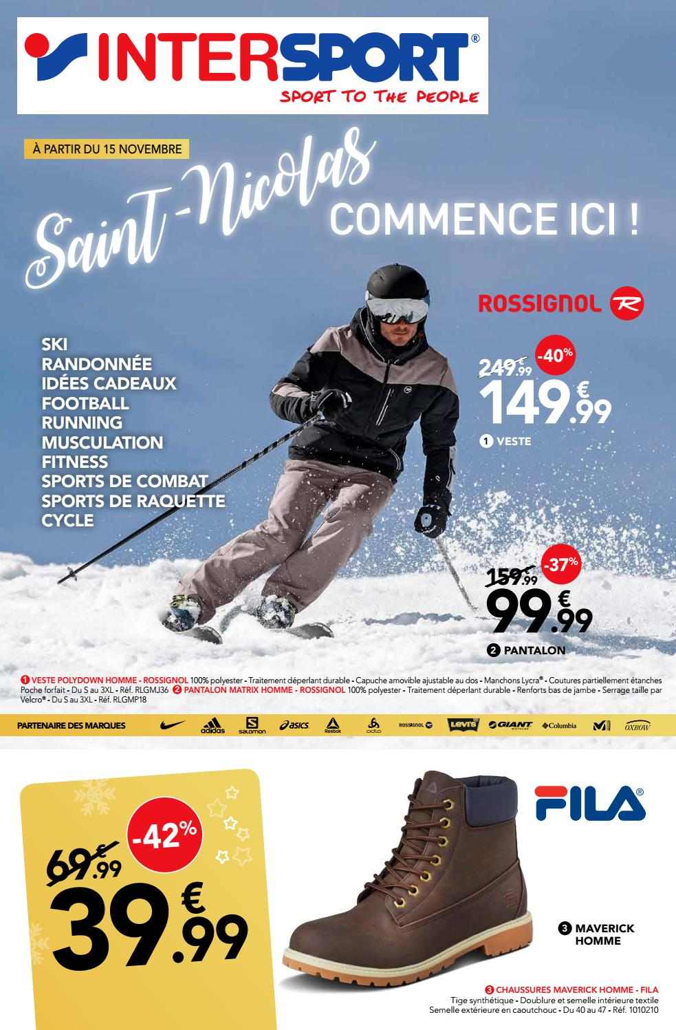 INTERSPORT MONS – SAINT NICOLAS (36 pages) by INTERSPORT