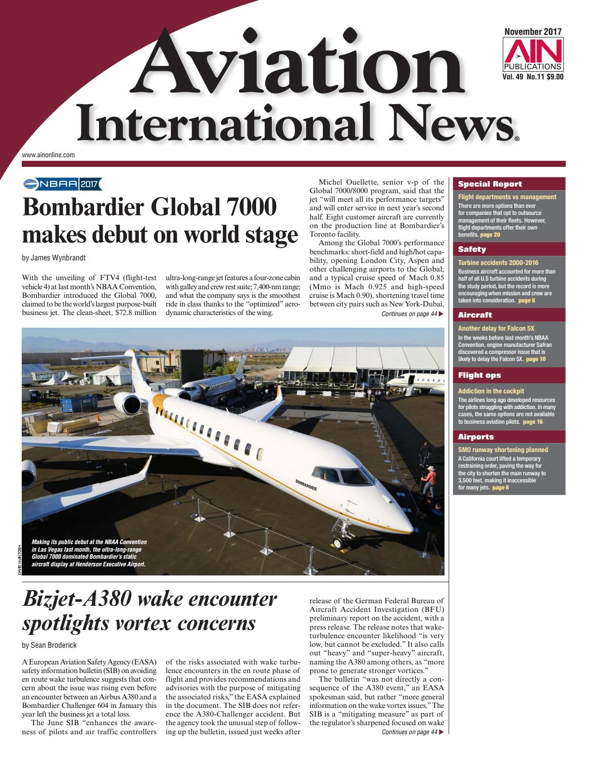 Aviation International News November 2017 By Aviation