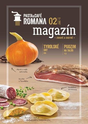 PASTA CAFÉ ROMANA magazín 2 by PASTA CAFÉ ROMANA - issuu 04f5256257