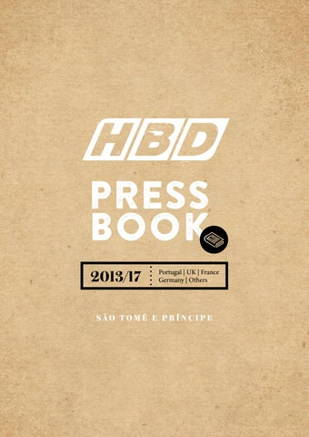Hbd press book prncipe island 2013 2017 by diana relego issuu press book 201317 fandeluxe Choice Image