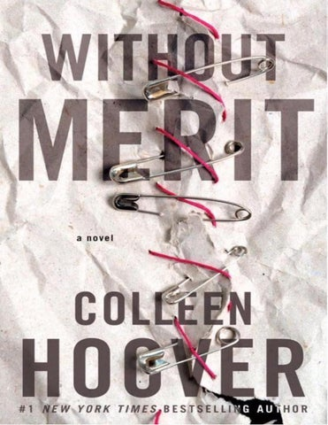 Without Merit by Colleen Hoover by Mariana Ugarte - issuu c5af84dc85de