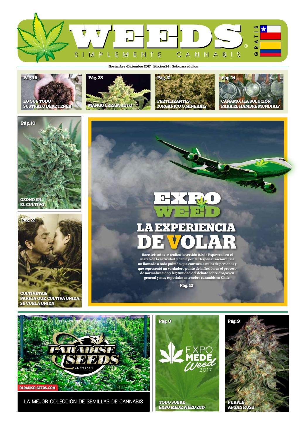 Weeds Colombia Nº 24 Noviembre / Diciembre 2017 by Periódico Weeds ...