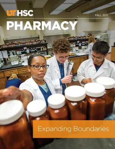 Uthsc Pharmacy Magazine Fall 2017 By University Of Tennessee