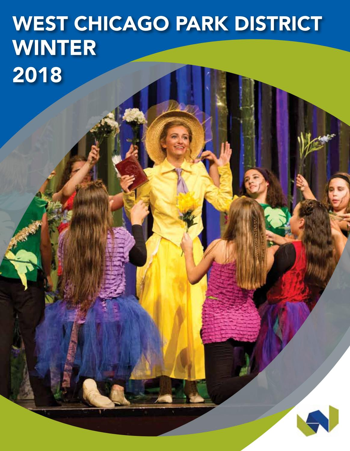 West Chicago Park District - Winter 2018 Program Guide by