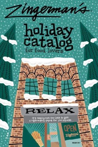 Zingerman's Really Not Too Late Holiday Catalog 2017 by