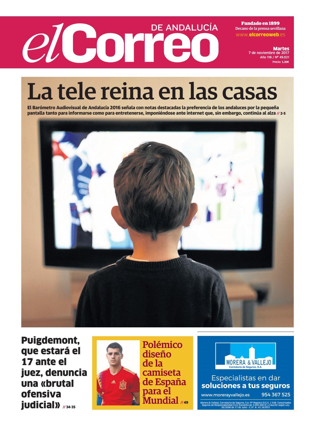 07.11.2017 El Correo de Andalucía by EL CORREO DE ANDALUCÍA S.L. - issuu c29c9bbeefc