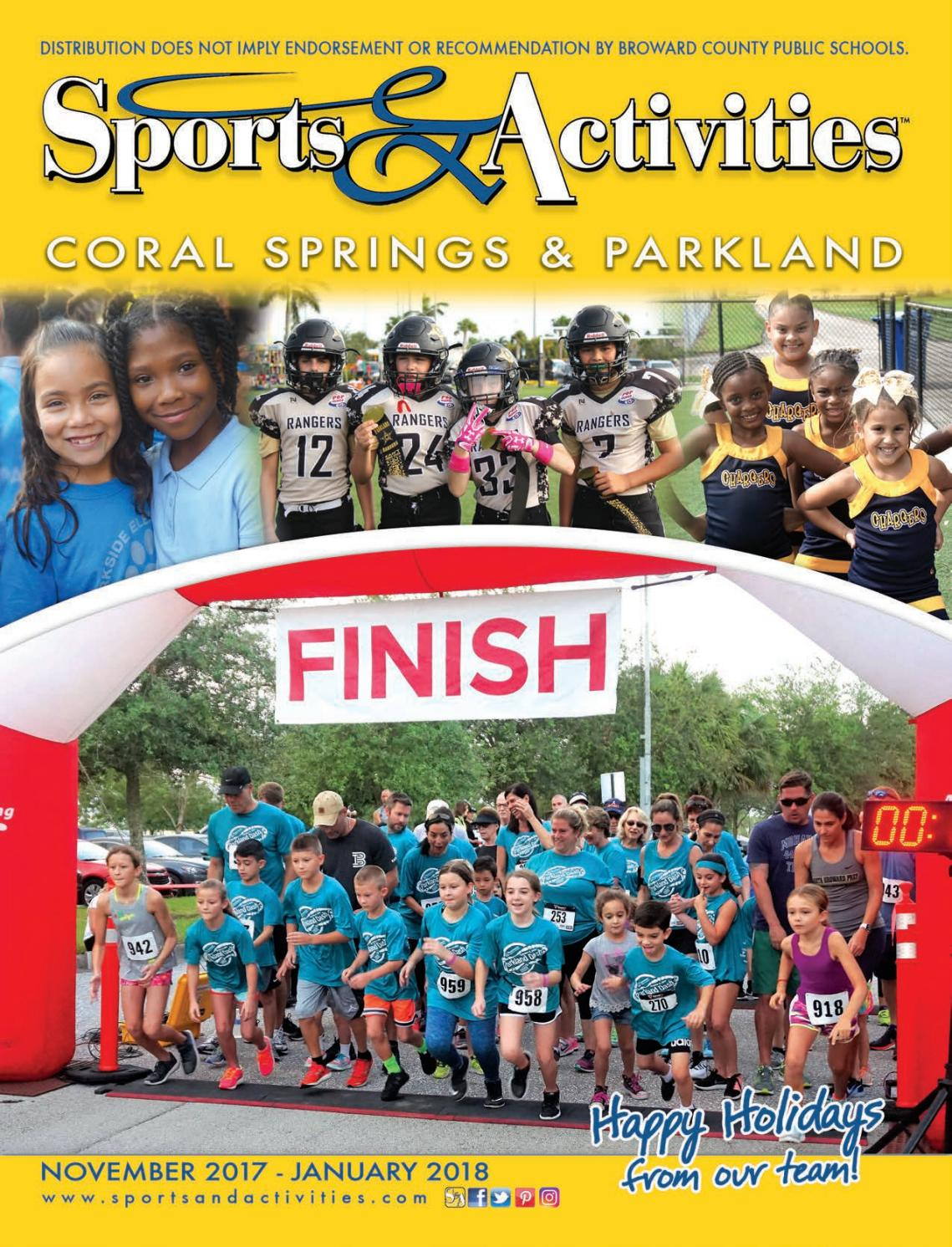 Coral Springs Parkland Sports Activities Directory By Sports