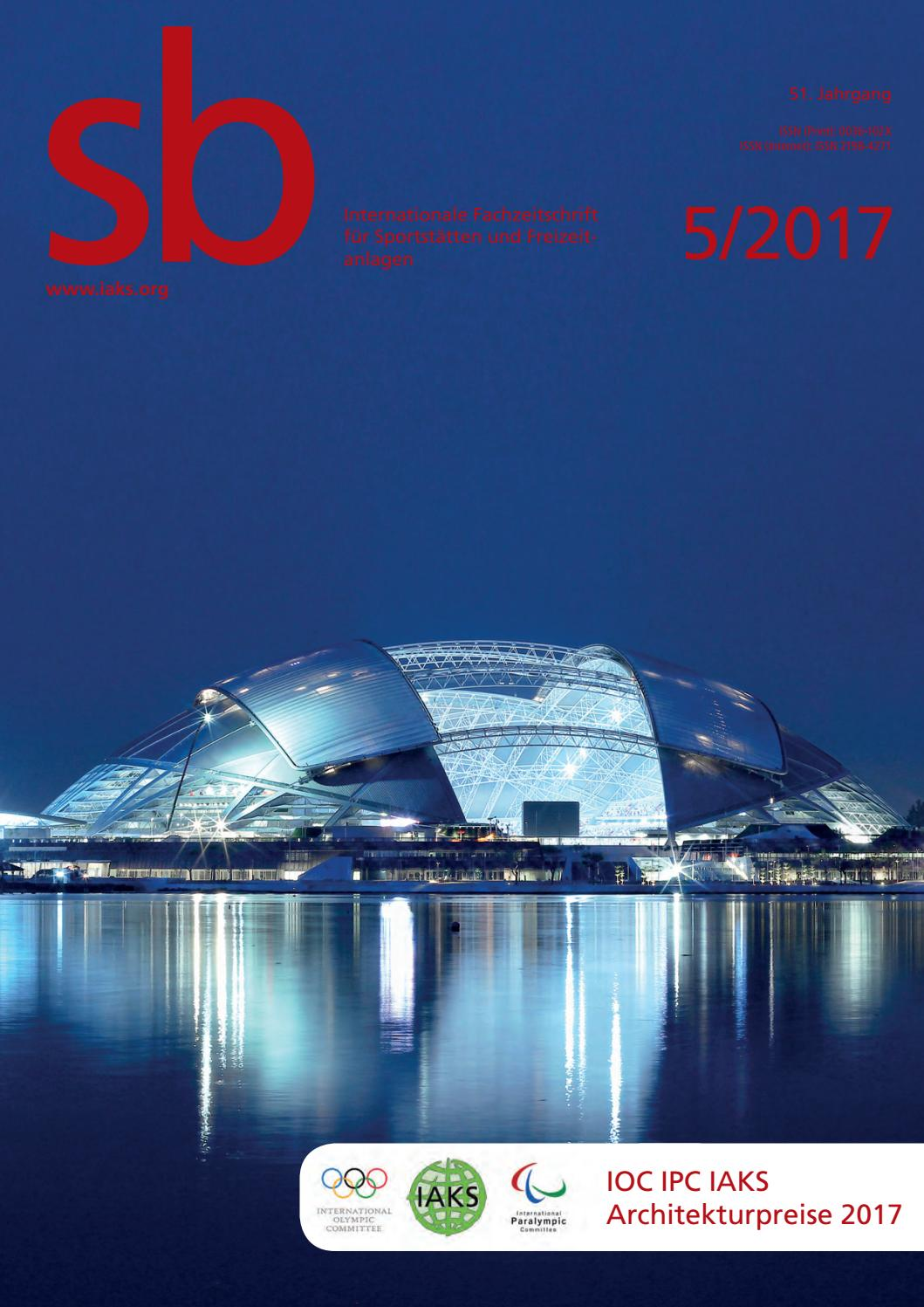 sb 5 2017 (deutsch) by IAKS e.V. - issuu