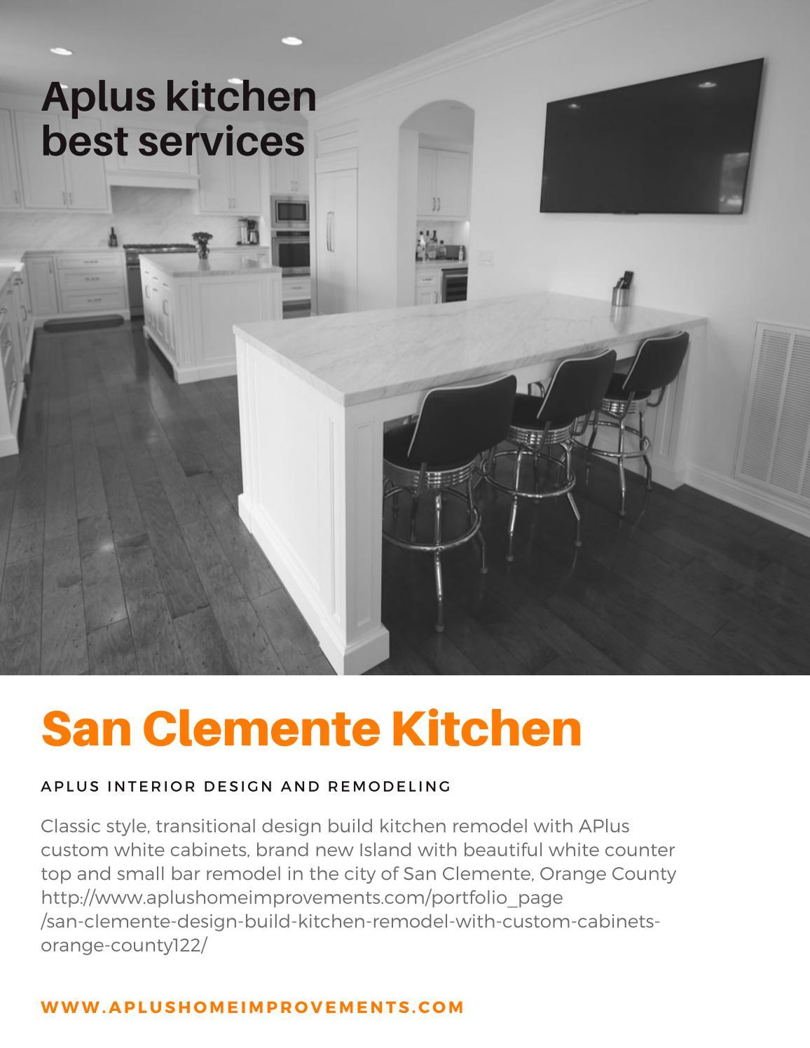San Clemente Kitchen Remodel Kitchen Cabinets By Alex Tabrizi Issuu