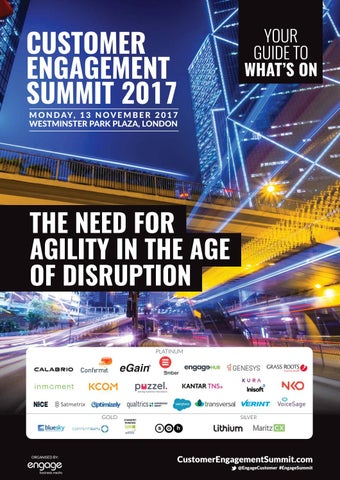 5c707d2a1aff 2017 Customer Engagement Summit Preview by Engage Business Media - issuu