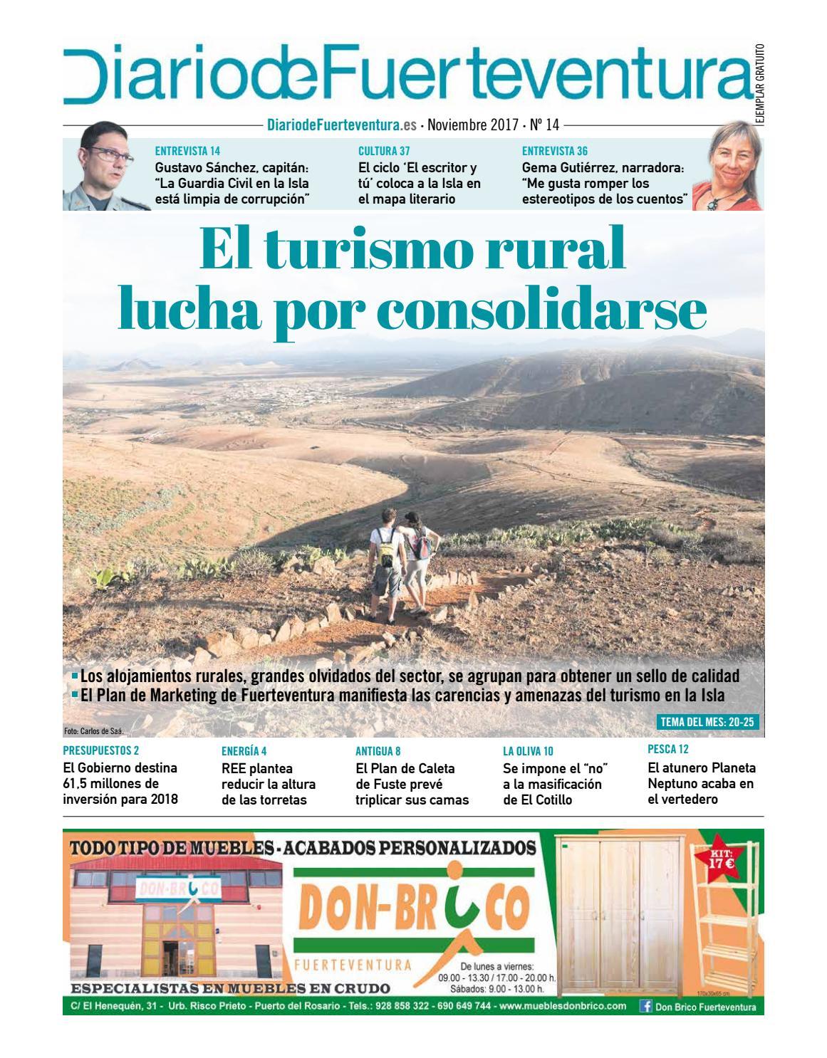 Diario De Fuerteventura Noviembre De 2017 By Diariodelanzarote  # Ylenia Muebles Alcala La Real