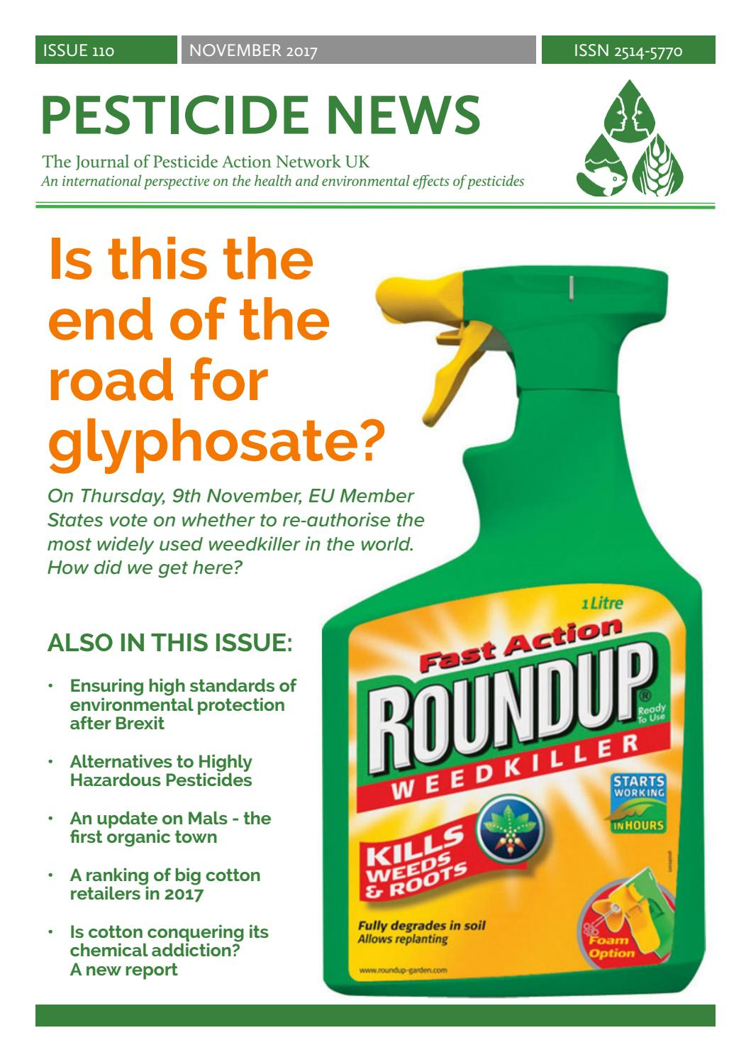 Pesticide News - Issue 110 by PAN UK - Issuu
