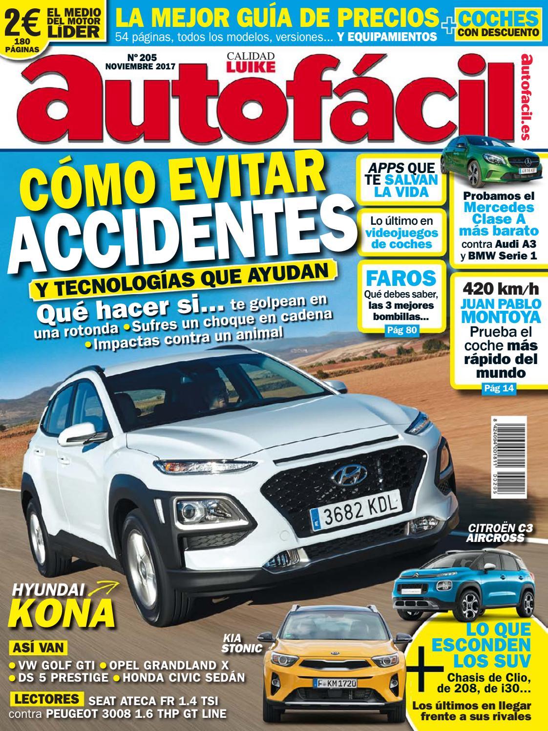 Autofácil Nº 205. Noviembre 2017 by LIDER - issuu
