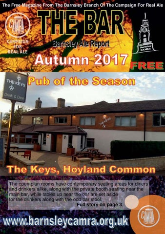 Awesome The Bar Autumn 2017 By Barnsley Camra Issuu Lamtechconsult Wood Chair Design Ideas Lamtechconsultcom