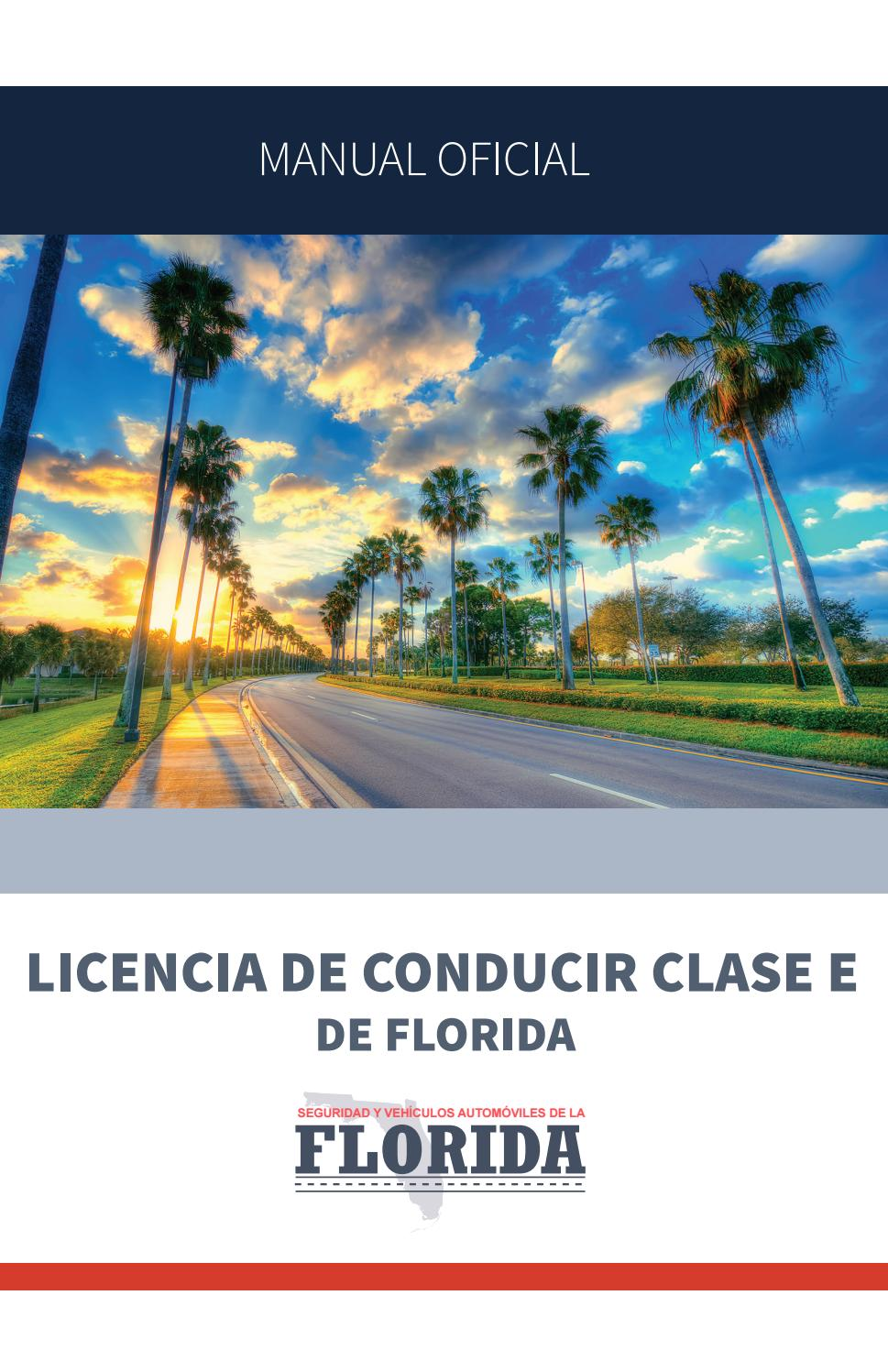 Manual licencia de conducir florida by Kara Melo - issuu