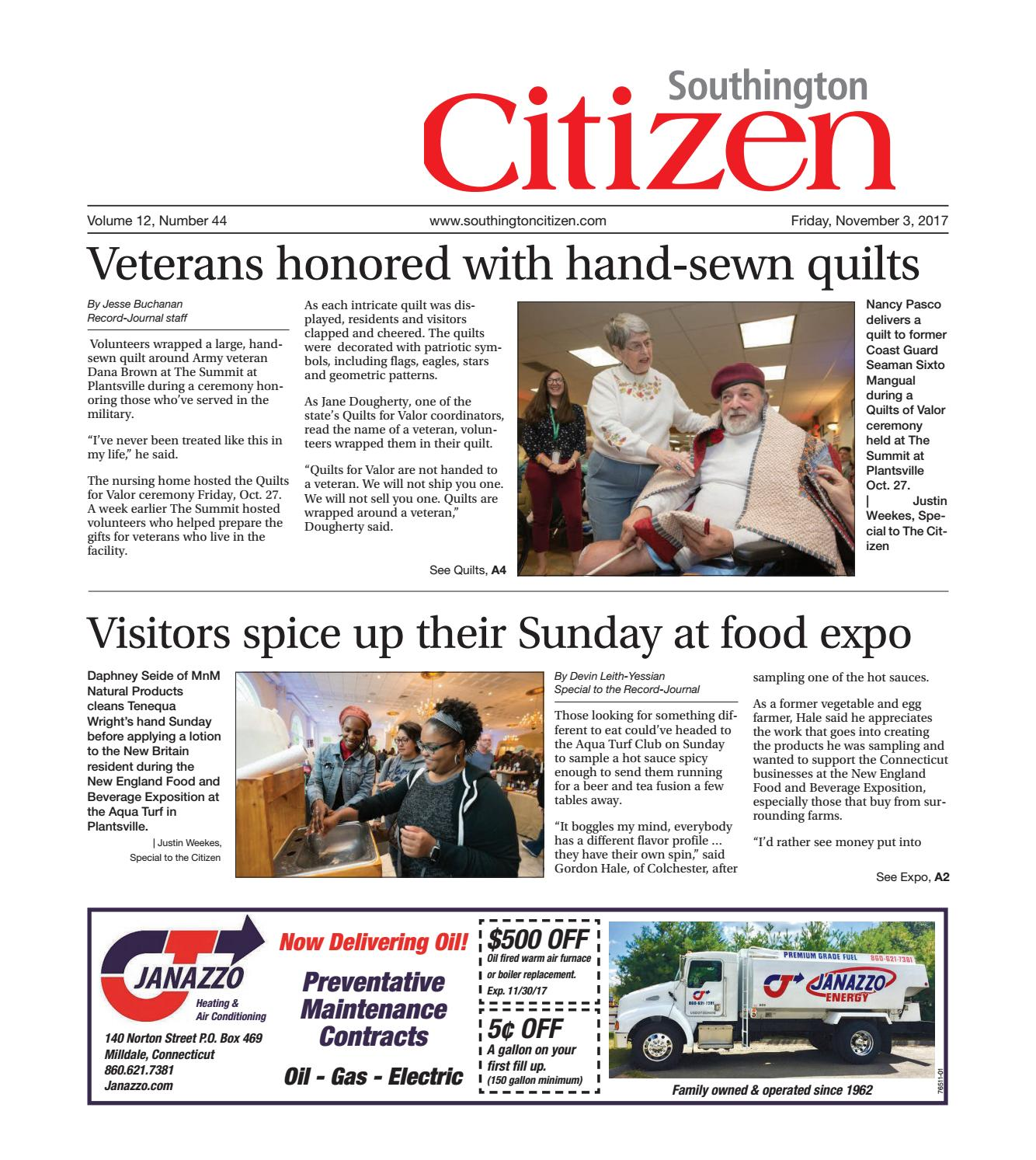 southingtoncitizen20171103 by dan champagne issuu
