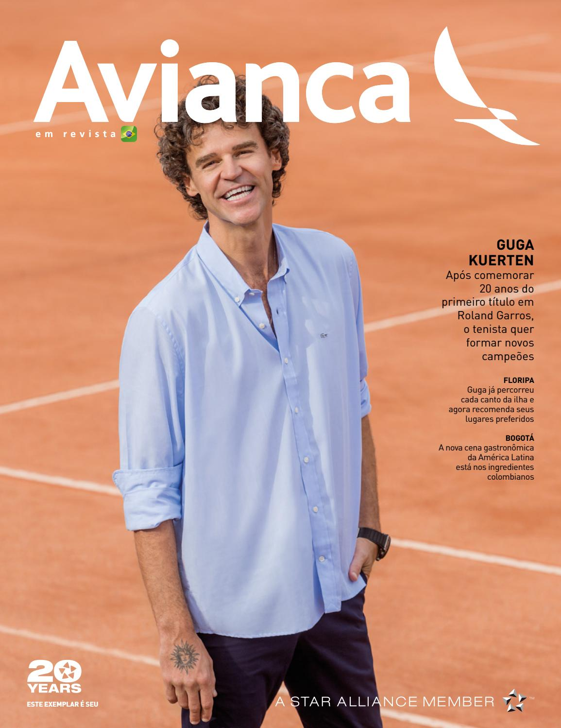 88 Guga Kuerten by Avianca em Revista - issuu 228202b7dc