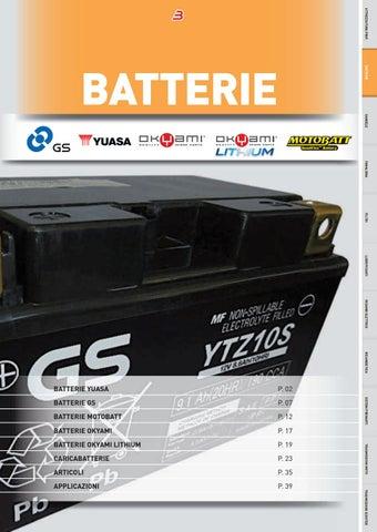 150/cca Yuasa YB12/A-A batteria di moto 12/V 12/Ah garanzia 1/anno