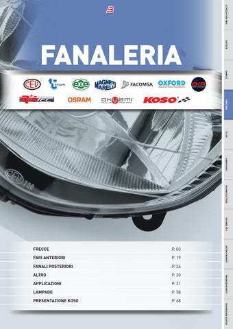 FANALINO LUCE TARGA PIAGGIO 125 250 500 X9 EVOLUTION