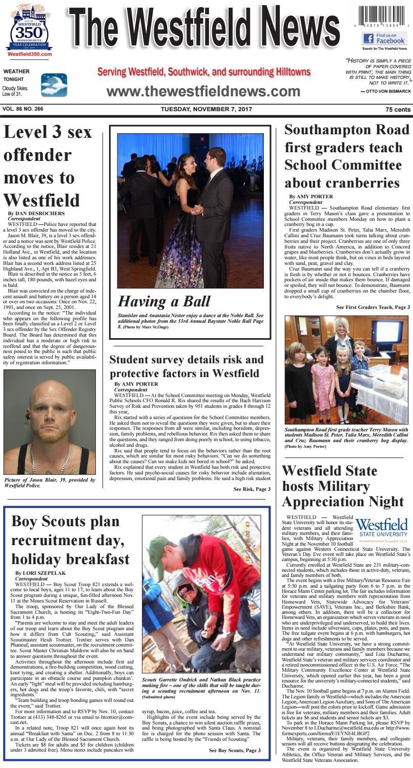 Amy Locane Bovenizer Net Worth tuesday, november 7, 2017the westfield news - issuu