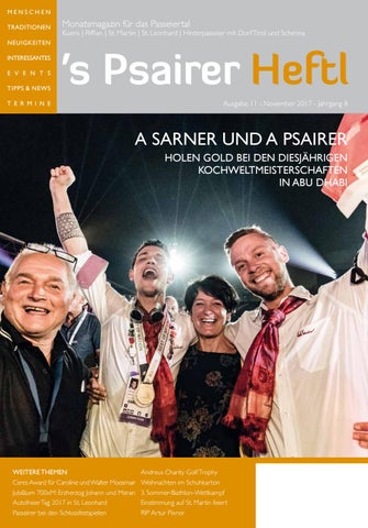 Uberlegen Show November*2017 Psairer Heftl Mp By MP GRAPHICS U0026 DESIGN   Issuu