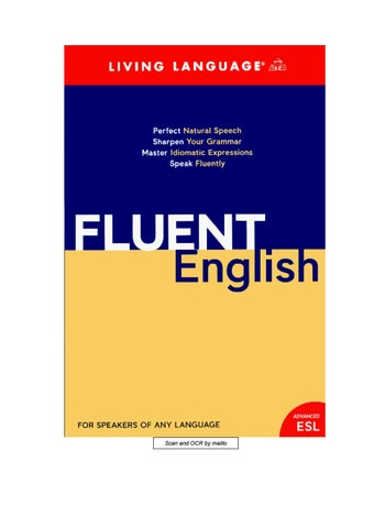 Ebook speaking fluent english 0857 by khushi ali issuu page 1 fandeluxe Gallery