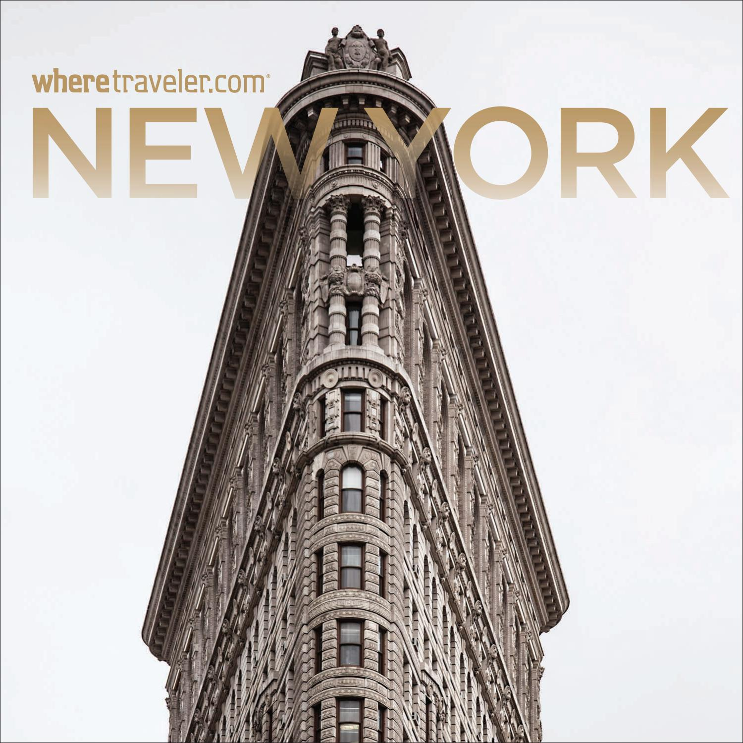 Where Guestbook New York 2018 Edition By In New York Issuu