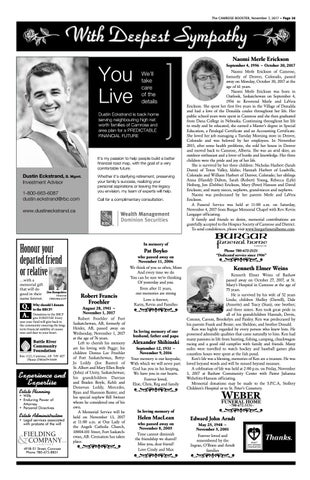 November 7 2017 camrose booster by the camrose booster issuu the camrose booster november 7 2017 page 28 publicscrutiny Image collections