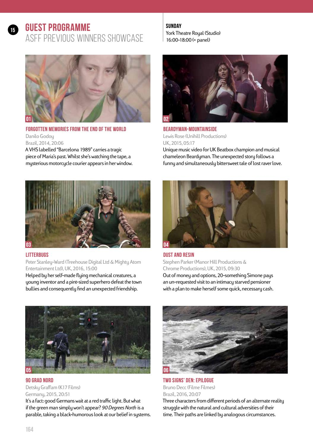 Aesthetica Short Film Festival 20 – Official Programme by ...