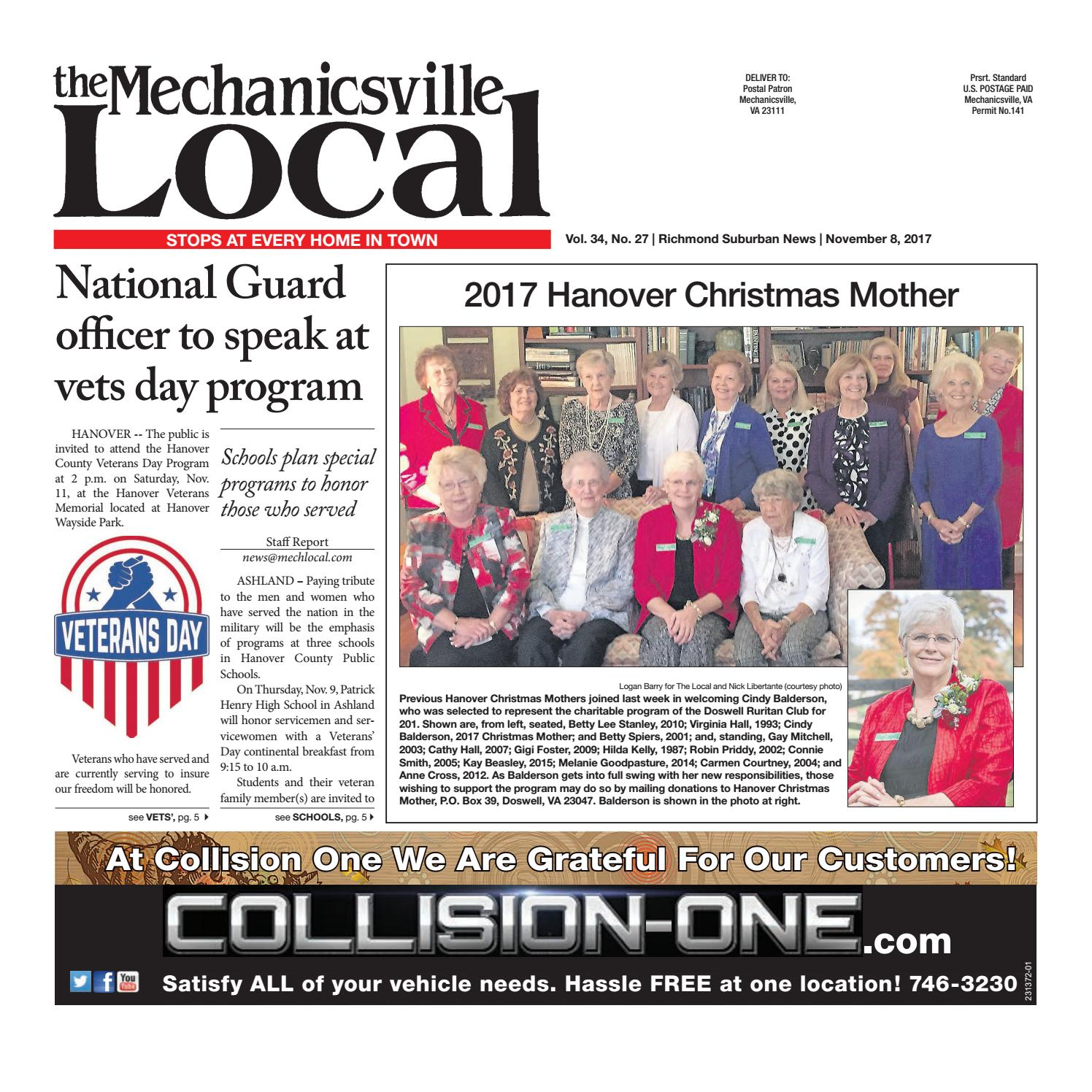11/08/17 by The Mechanicsville Local - issuu