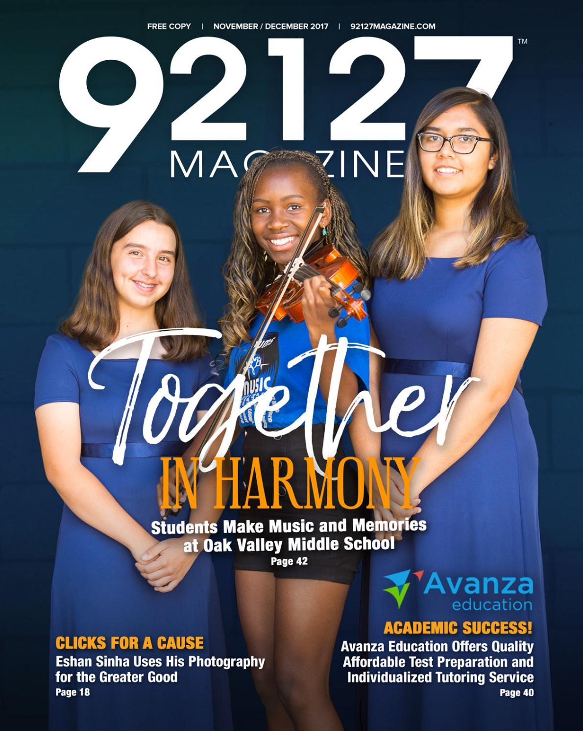 92127 Magazine - November/December 2017 by ZCode Magazines