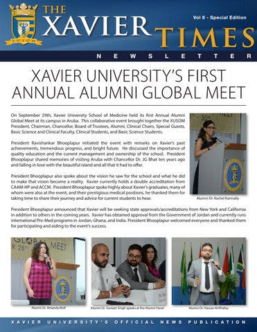 Xavier Times: Special Edition by Xavier University School of