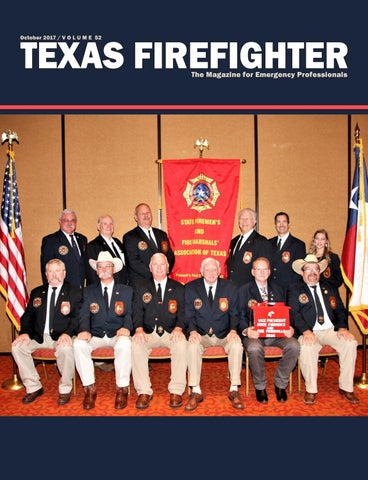 Texas firefighter 2017 by State Firefighters\' and Fire Marshals ...