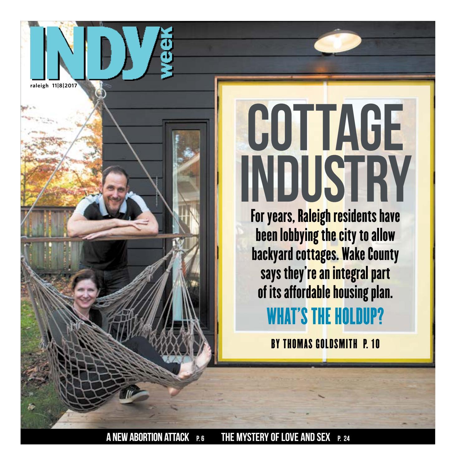 Backyard Abortion: INDY Week 11.8.17 By Indy Week
