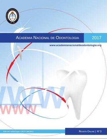 Revista ANDO N3 2017 by academianacionaldeodontologia - issuu