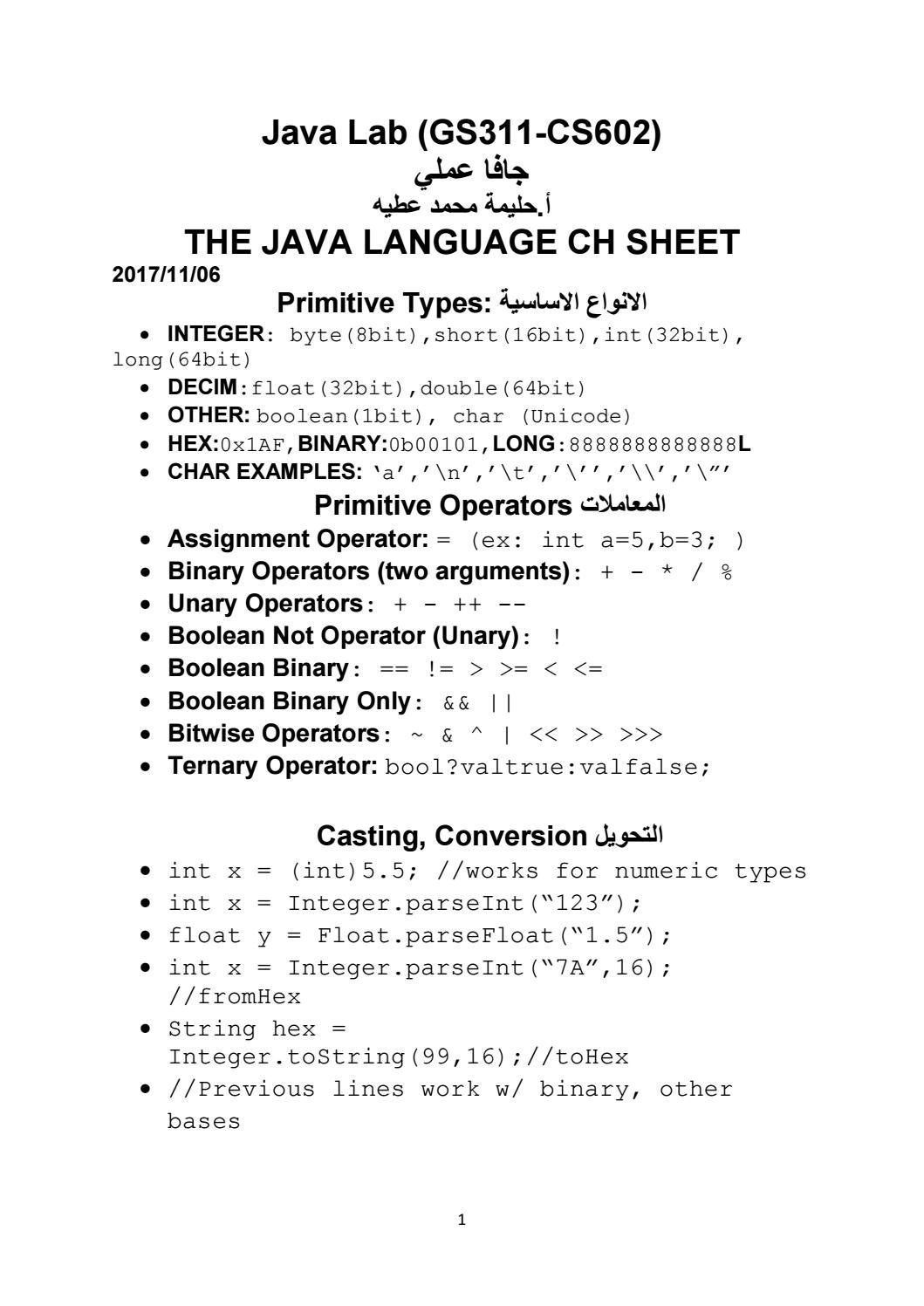 Java lab java ch by Ms H programmer - issuu