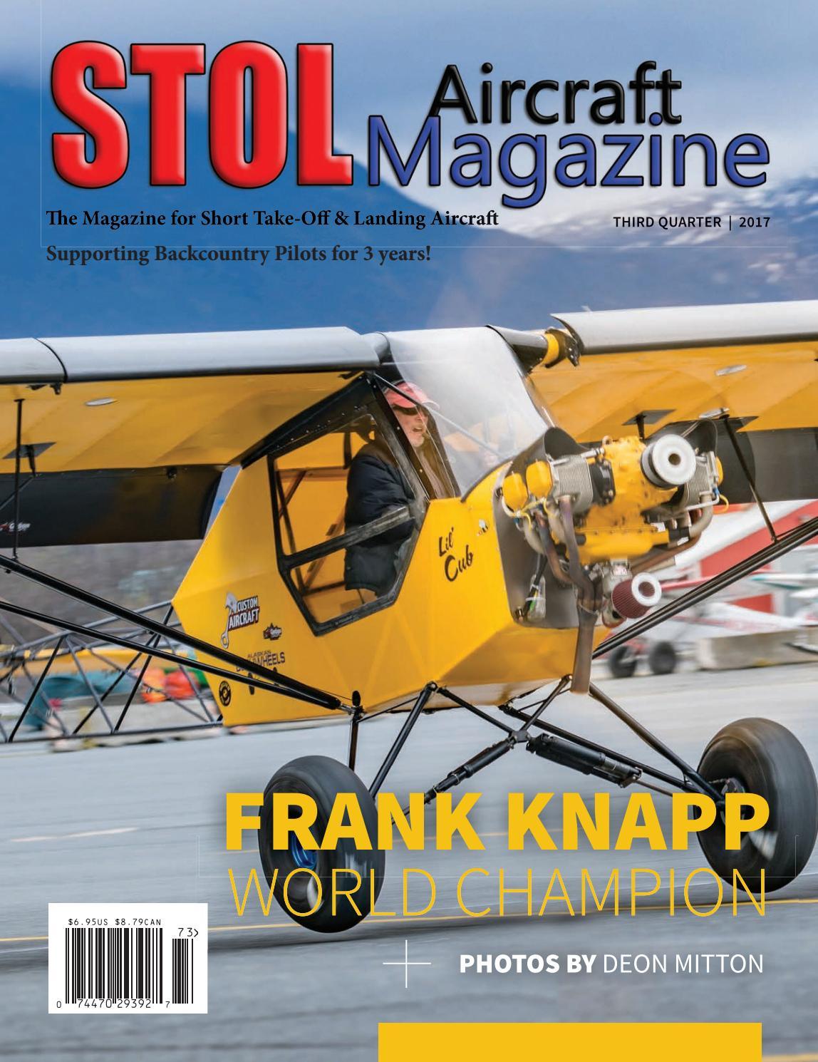 Stol Aircraft Magazine 3rd Quarter 2017 By Air Pressor Mag Ic Starter Wiring Diagram On Champion Compressor Issuu