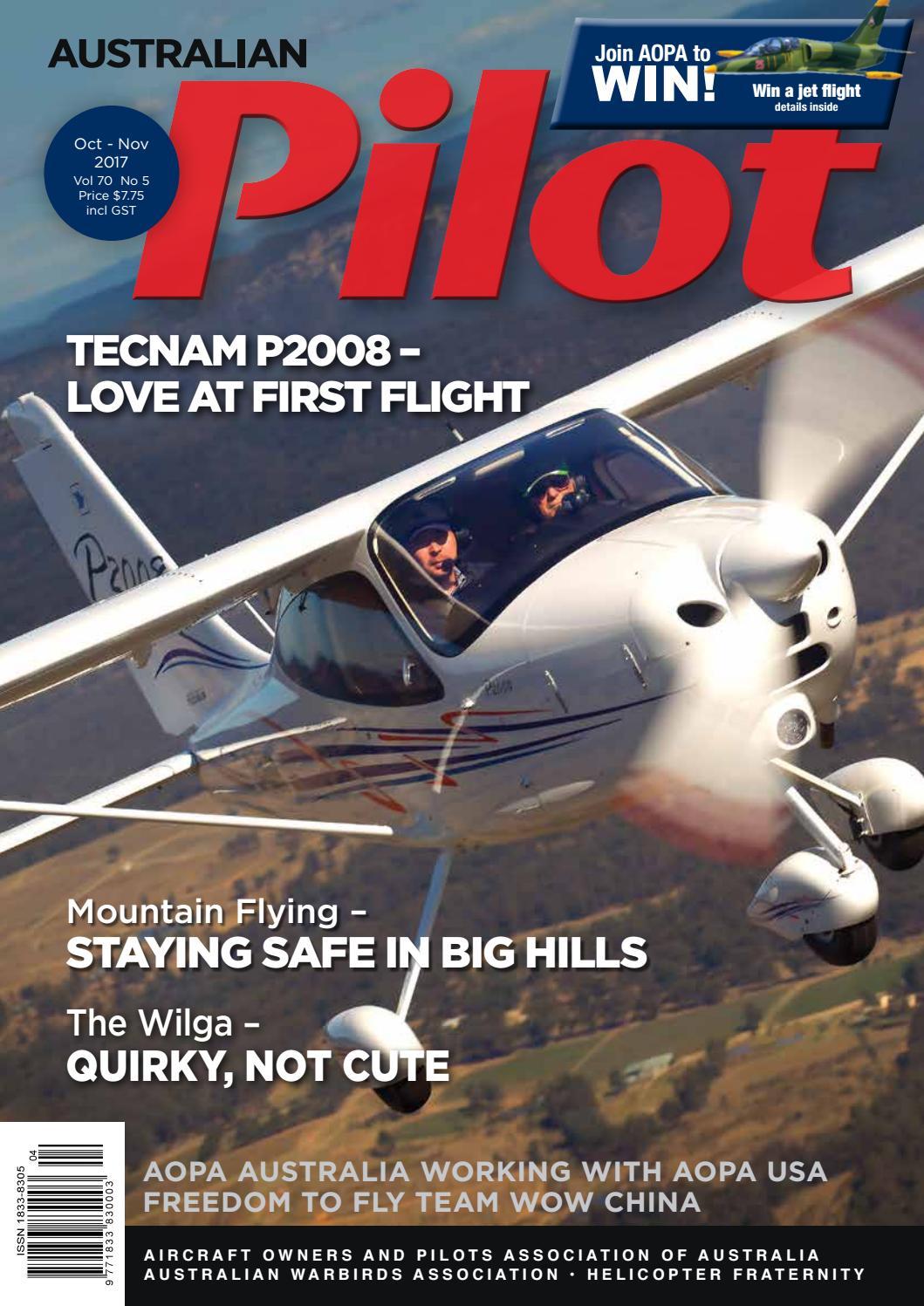 Australian PILOT Magazine Oct-Nov 2017 by AOPA Australia - issuu