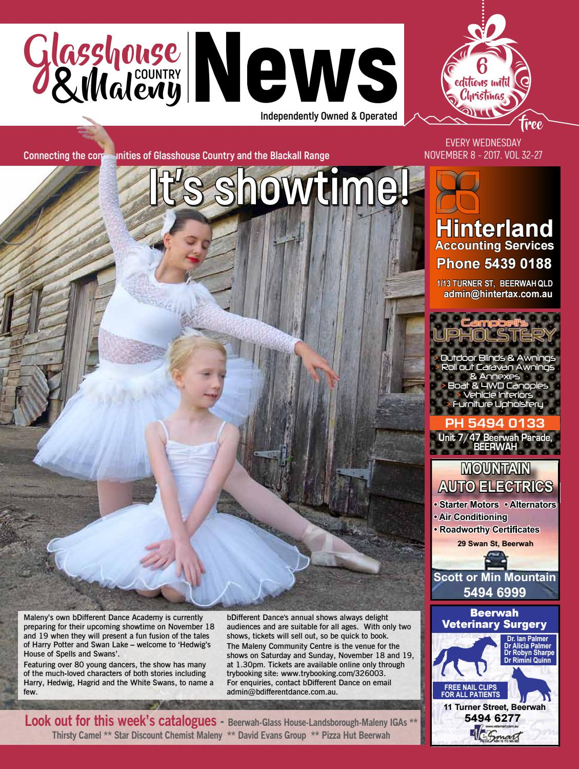 Edition 8 November 2017 by Glasshouse Country   Maleny News - issuu e283c5ab16ad