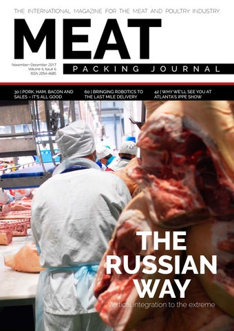 Meat Packing Journal Nov Dec 2017 Iss 6 Vol 4 By Reby Media Issuu
