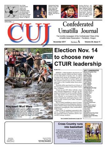 Confederated Umatilla Journal 11 2017 By Confederated Umatilla
