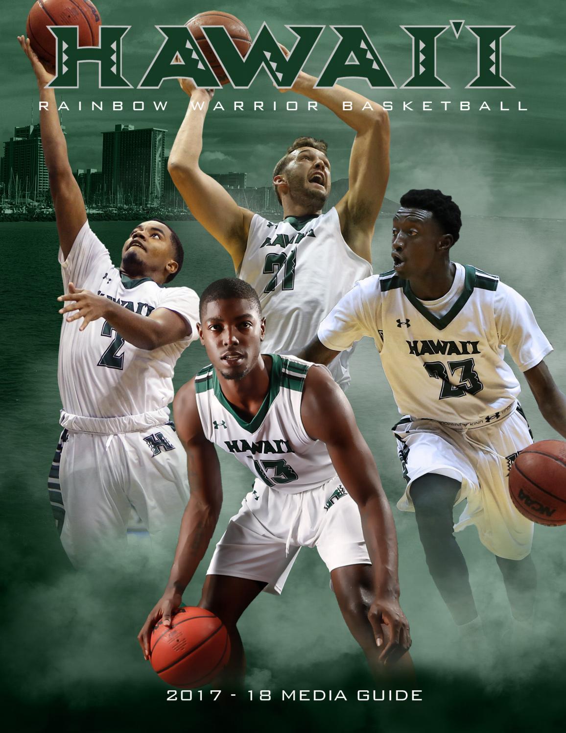 262a3f05040 2017-18 Hawaii Men's Basketball Media Guide by hawaiiathletics1  hawaiiathletics1 - issuu