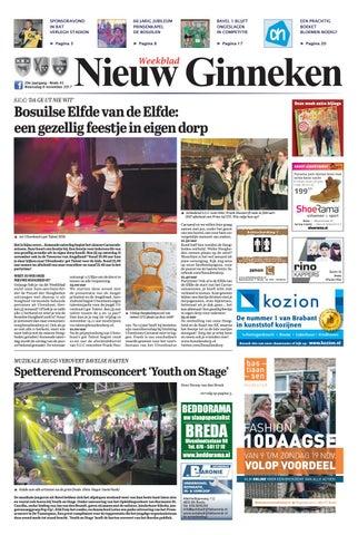 76b5e1aa1be6b7 Weekblad Nieuw Ginneken 08-11-2017 by Uitgeverij Em de Jong - issuu