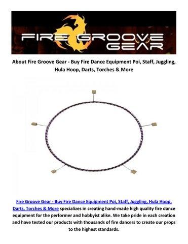 buy online fire hoop at fire groove gear