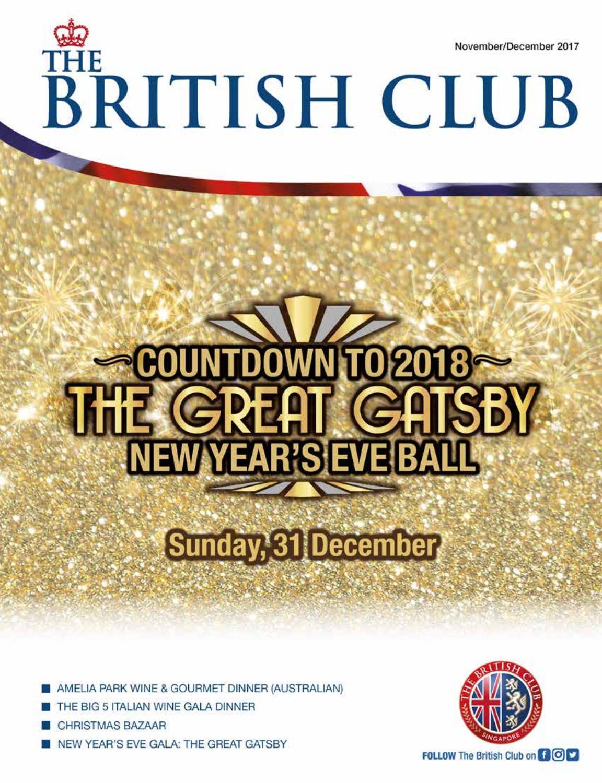 The British Club November/December Magazine 2017 by The British Club - issuu