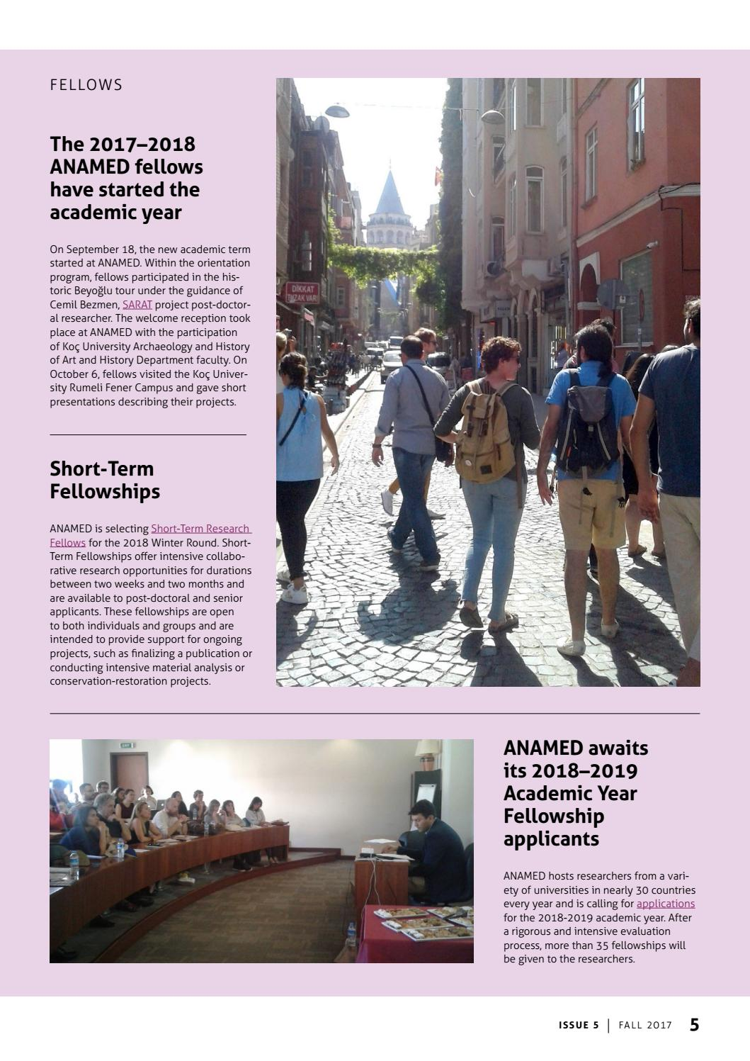 ANAMED Newsletter - Fall 2017 by ANAMED - issuu