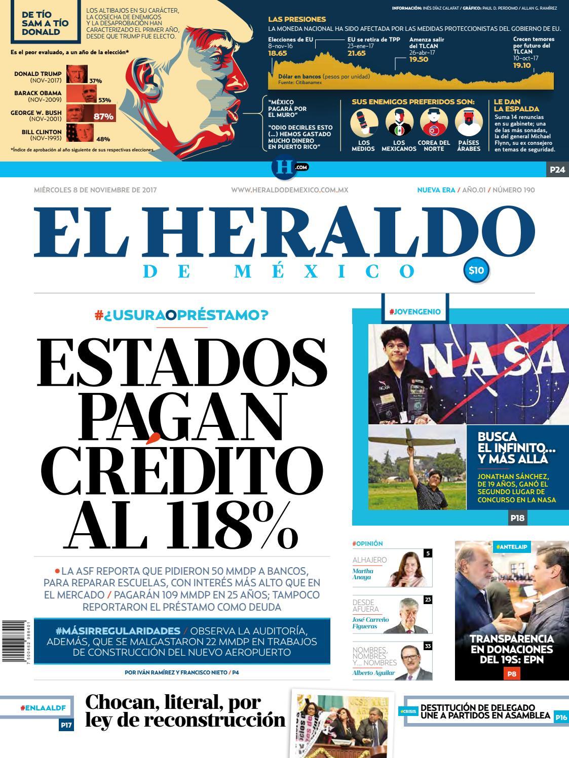 El Heraldo de México 8 de noviembre del 2017 by El Heraldo de México - issuu 40c1c752bdb1a