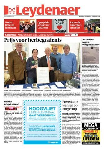Leydenaer week 45 17 by Uitgeverij Verhagen issuu