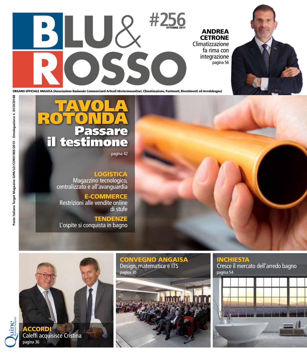 Simonetti Arredo Bagno Treviso.Blu Rosso N 256 Ottobre By Quine Business Publisher Issuu